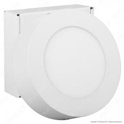 Qtech Nevis Pannello LED Rotondo 7W con Driver - mod. 80010002