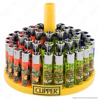 Clipper Large Fantasia Tropical Islands - Box da 48 Accendini