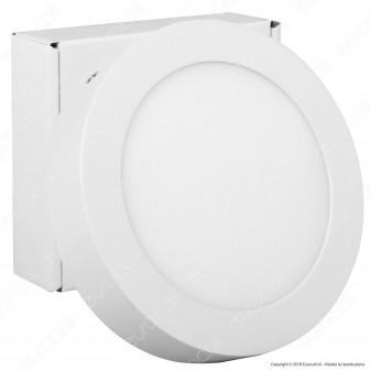 Qtech Nevis Pannello LED Rotondo 14W con Driver - mod. 80010004