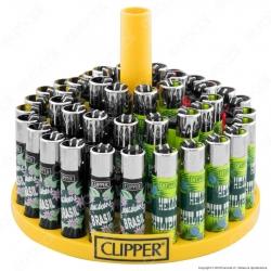 Clipper Large Fantasia Tropical Islands 3 - Box da 48 Accendini