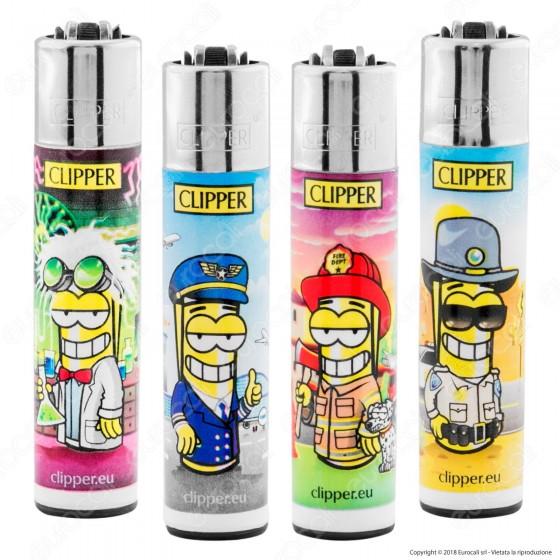 Clipper Micro Fantasia Clipperman Jobs - 4 Accendini