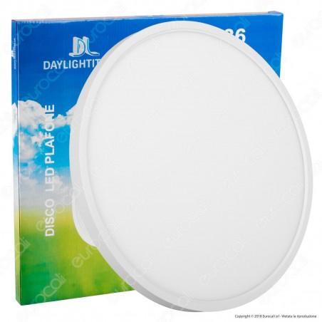 Daylight Plafone Pannello LED Rotondo 36W con Driver - mod. 570069 / 570070