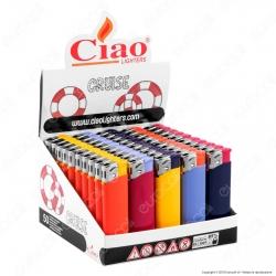 Ciao Accendino Cruise Tinta Unita Elettronico - Box da 50 Accendini