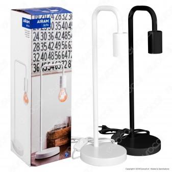 Bot Lighting Airam Nita Lampada da Tavolo con Portalampada per Lampadine E27 - mod. 9783077 / 9783078
