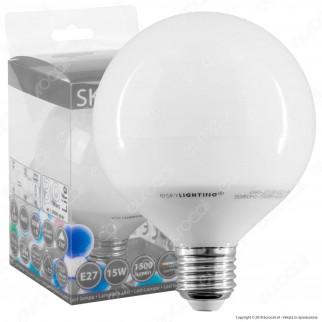 SkyLighting Lampadina LED E27 15W Globo G95