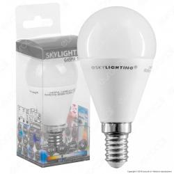 SkyLighting Lampadina LED E14 8W MiniGlobo P45 - mod. G45PA-1408