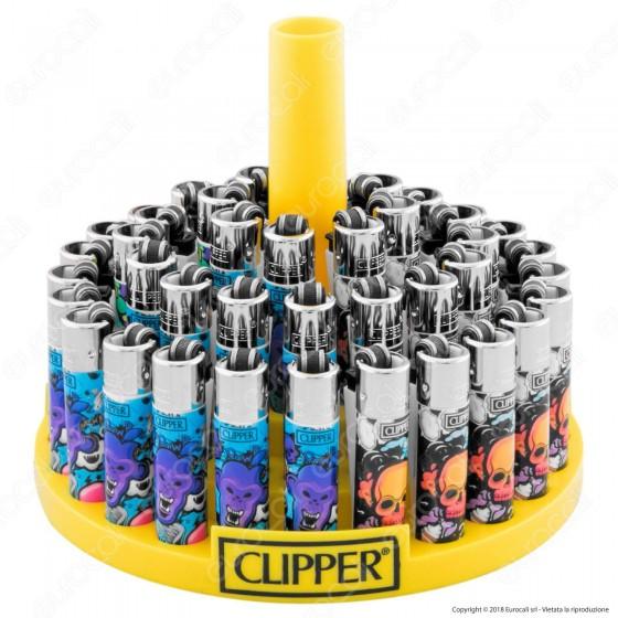 Clipper Micro Fantasia Graffiti Style 2 - Box da 48 Accendini