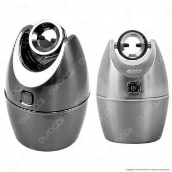 Cozy Accendino USB in Metallo Antivento Ricaricabile con Arco al Plasma e Posacenere - 1 Accendino