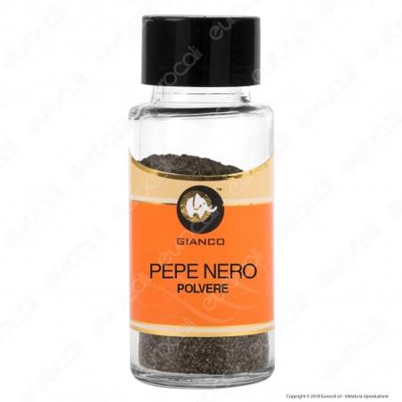 Gianco Pepe Nero in Polvere - Vasetto in Vetro