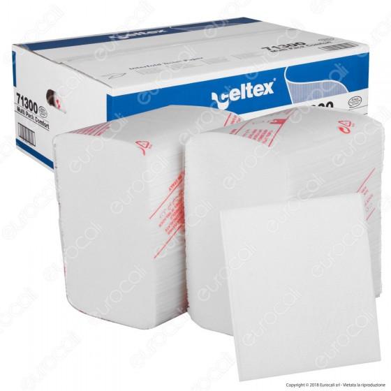 Celtex I Lux Carta Igienica Interfogliata - 40 Confezioni da 250 Fogli