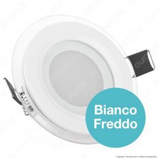 V-Tac VT-602G RD Pannello LED Rotondo 6W SMD2835 da Incasso - SKU 4739