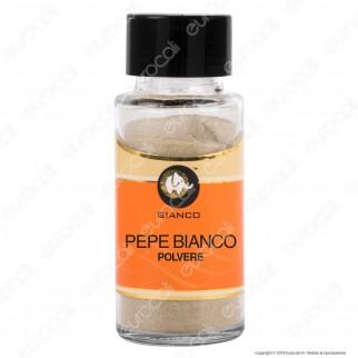Gianco Pepe Bianco in Polvere - Vasetto in Vetro