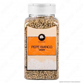 Gianco Pepe Bianco in Grani - Maxi Barattolo da 800 ml
