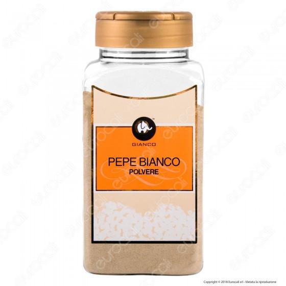 Gianco Pepe Bianco in Polvere - Maxi Barattolo da 800 ml