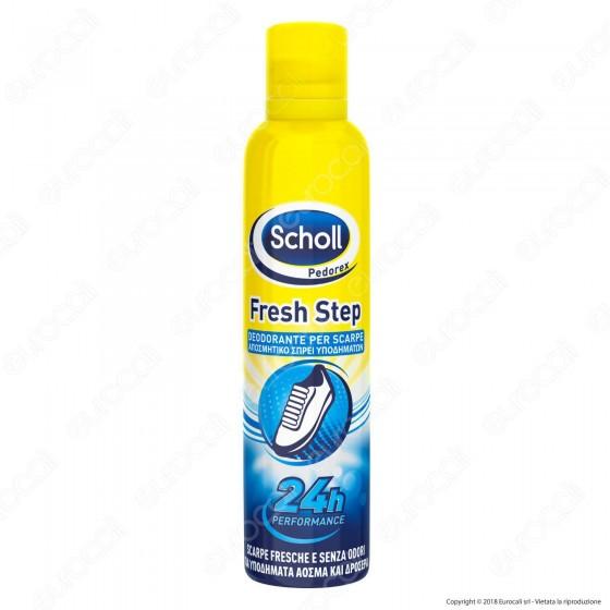 Scholl Fresh Step Deodorante per Scarpe - Spray da 150ml