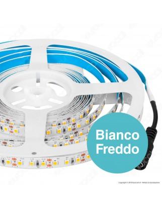 V-Tac PRO VT-5-120 Striscia LED 2835 Monocolore 120 LED/metro Chip Samsung - Bobina da 10 metri - SKU 323 / 324 / 325