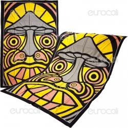 Telo Decorativo da Muro - Mushroom Face