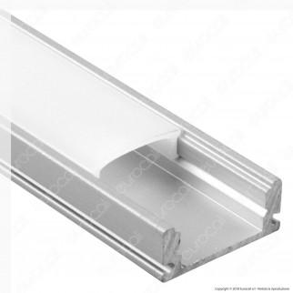V-Tac VT-8113 4 Profili in Alluminio per Strisce LED - Lunghezza 2 metri - SKU 3355