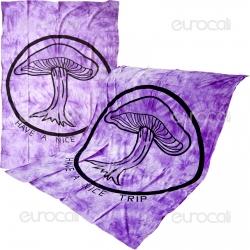Telo Decorativo da Muro in Cotone - Mushroom 2