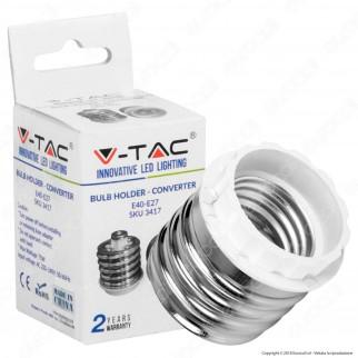 V-Tac Adattatore per Lampadine da E40 a E27 - SKU 3417