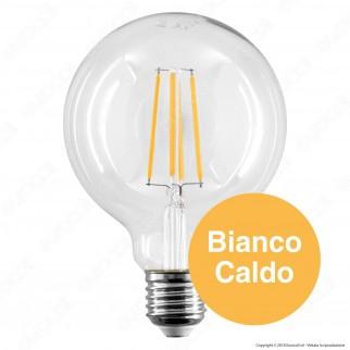 V-Tac PRO VT-287 Lampadina LED E27 6W Globo G95 Chip Samsung - SKU 294