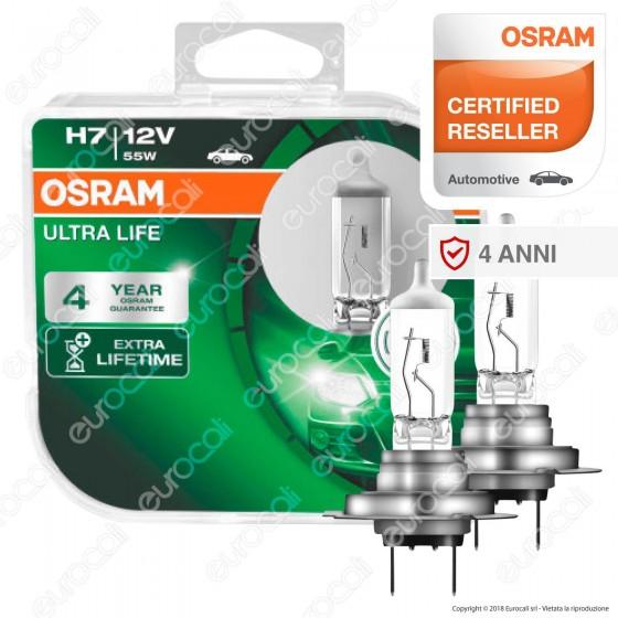 Osram Ultra Life - 2 Lampadine H7