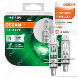 Osram Ultra Life - 2 Lampadine H1