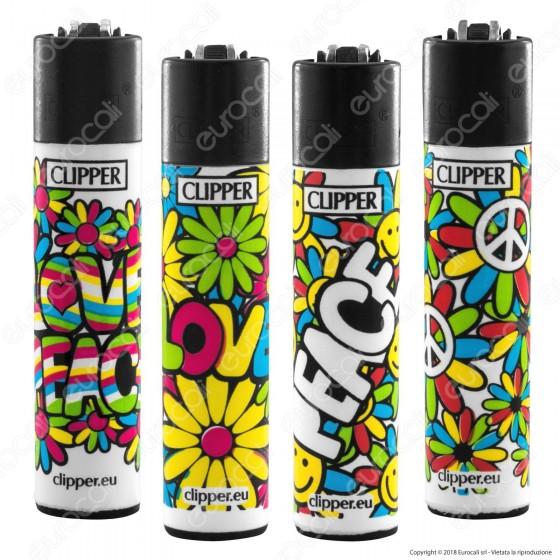 Clipper Large Fantasia Hippie Cool 3 - 4 Accendini