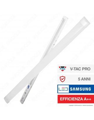V-Tac VT-8-60 Tubo LED Prismatico Plafoniera 60W Lampadina 180cm Chip Samsung - SKU 670 / 671