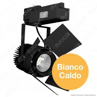 V-Tac PRO VT-433 Track Light LED COB 33W Colore Nero Chip Samsung - SKU 371 / 372 / 373