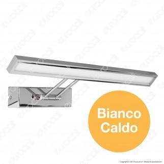 V-Tac VT-7009 Lampada da Specchio Wall Light Cromata 8W - SKU 3900 / 3984
