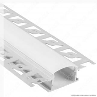 [EBAY] V-Tac VT-8101 4 Profili in Alluminio per Strisce LED a Scomparsa - Lunghezza 2 metri - SKU 3359