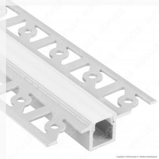 [EBAY] V-Tac VT-8102 4 Profili in Alluminio per Strisce LED a Scomparsa - Lunghezza 2 metri - SKU 3360