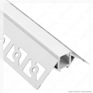 [EBAY] V-Tac VT-8103 4 Profili Angolari in Alluminio a Scomparsa per Strisce LED - Lunghezza 2 metri - SKU 3361
