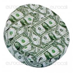 Black Leaf Scatolina in Metallo Portatutto con Apertura a Click - Fantasia Dollars