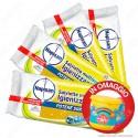 Kit Napisan Wipes Salviette Multisuperfici Igienizzanti Limone e Menta - 8 Confezioni da 60 Salviette