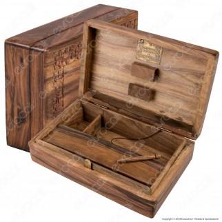 Original Kavatza Holz Blume Box Stazione di Rollaggio in Legno