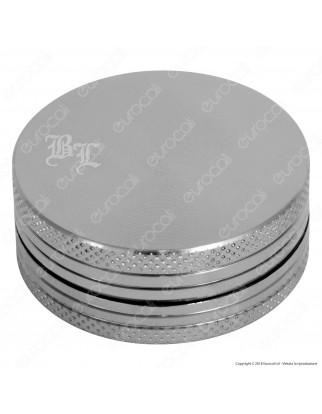 Grinder Tritatabacco Black Leaf 2 Parti in Metallo Colorato