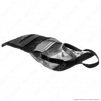 Il Morello Pocket Mini Portatabacco in Vera Pelle Colore Nero