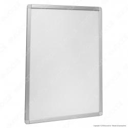 Cornice Tecno-Scatto in Alluminio Anodizzato per Poster Monofacciale Formato 70x100cm - Made in Italy