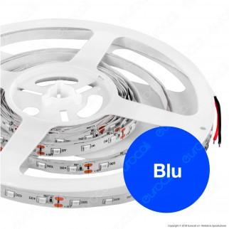V-Tac Striscia LED 3528 Monocolore 60LED/metro - Blu / Rossa - Bobina da 5 metri - SKU 2013 / 2015