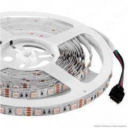 V-Tac Striscia LED 5050 Multicolore RGB 60LED/metro - Bobina da 5 metri - SKU 2120