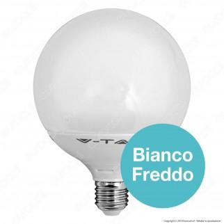V-Tac VT-1883 Lampadina LED E27 13W Globo G120 - SKU 4253 / 4273 / 4274