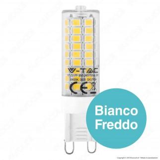 V-Tac VT-2177 Lampadina LED G9 5W Bulb - SKU 7432 / 7433 / 7434