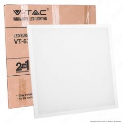 V-Tac VT-6170 Pannello LED a Montaggio Superficiale o Incasso 60x60 70W SMD con Driver - SKU 6453 / 6454
