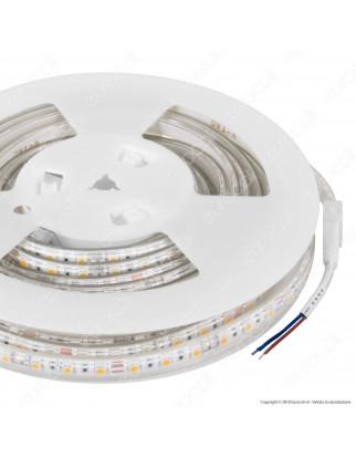 V-Tac VT-5050 Striscia LED Impermeabile Monocolore 60 LED/metro 24V - Bobina da 10 metri - SKU 2562 / 2563 / 2564