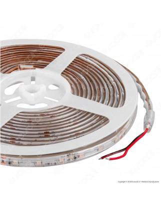 V-Tac Striscia LED 3528 Impermeabile Monocolore - 4 Colori a Scelta - Bobina da 5 metri - SKU 2035 / 2036 / 2033 / 2034