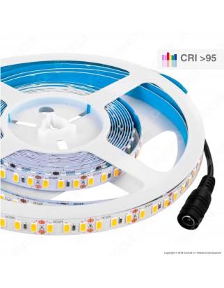 V-Tac Striscia LED 5730 Monocolore 120 LED/metro - Bobina da 5 metri - SKU 2162 / 2163 / 2161