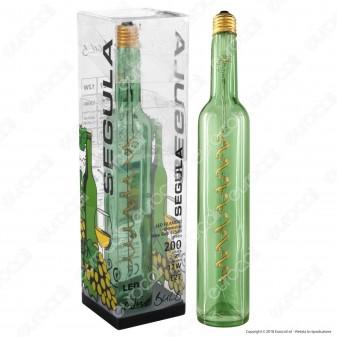 Segula Design Line Lampadina E27 Filamento LED Modellato 12W Forma Bottiglia Dimmerabile mod. 50117