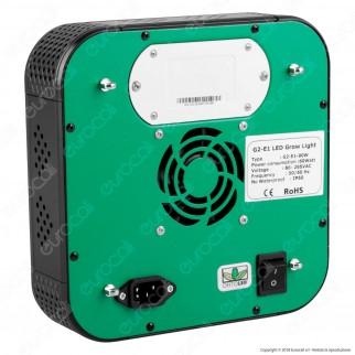 Ortoled Basestar Total Agro Lampada LED 90W per Coltivazione Indoor Consumo Reale 60W